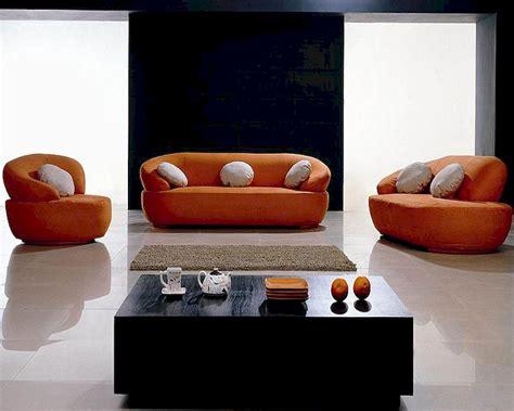 modern fabric sofa sets modern orange fabric sofa set 44lh01