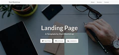 50 Free Responsive Html5 Web Templates Free Splash Page Template