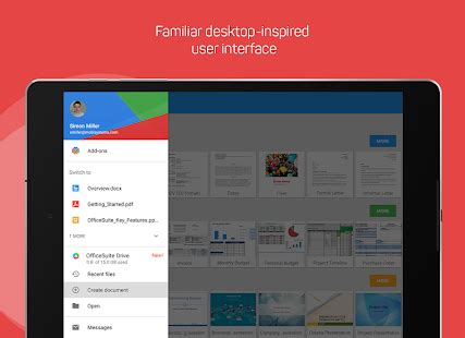 android view layoutinflater exle officesuite free office pdf editor android apps on