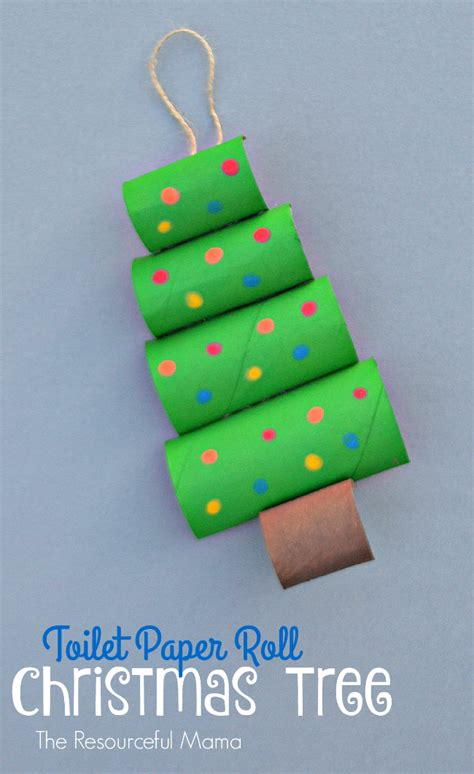 toilet paper roll christmas tree crafts www imgkid com