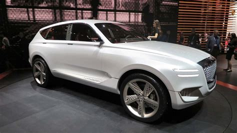2019 genesis suv best 2019 genesis gv80 suv rear high resolution image