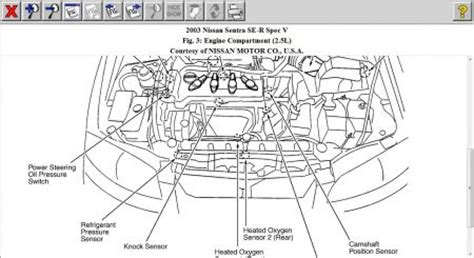 nissan sentra 2007 engine diagram get free image about