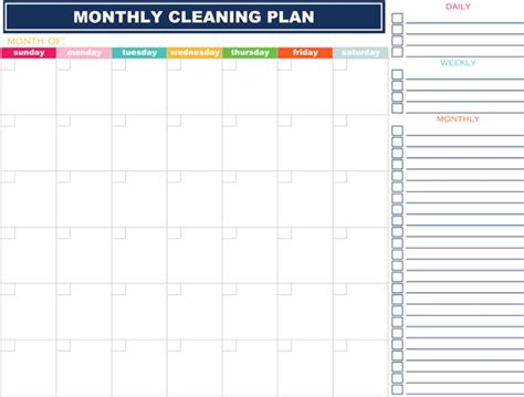 printable weekly cleaning planner iheart organizing free printables