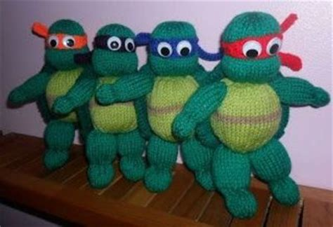 ninja knit pattern teenage mutant ninja turtles knitting pattern to knit