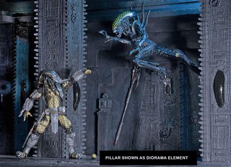 Online Home Decor Items Alien Vs Predator Temple Pillar Diorama Element
