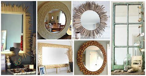 diy mirror frame tips and tricks for beautiful decoration diy mirror frame interesting ideas for decor 100 diy