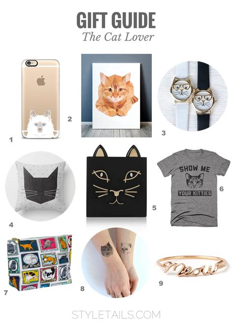 gift for lover gift guide gifts for stylish cat