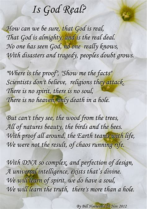 is god real spiritual poetry
