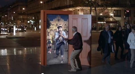 in interactive doors transport pedestrians to