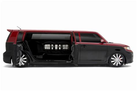 scion xb tuning best tuning from scion xb limousine black white limo