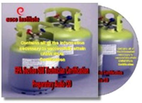 Epa Section 608 by Epa Section 608 Certification Prep Manual For Air