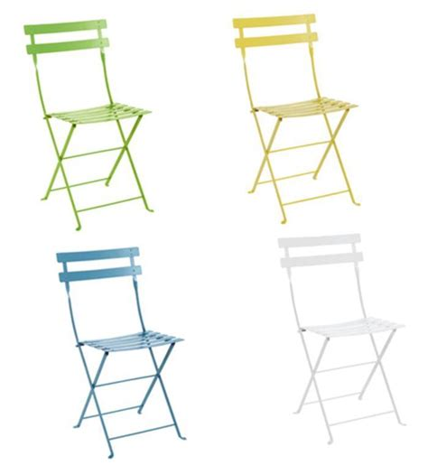 colorful folding chairs design on sale daily colorful bistro chairs cococozy