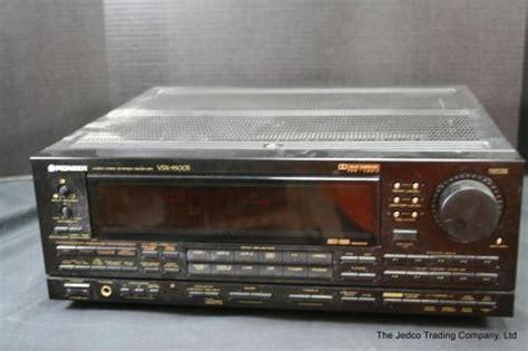 multi room audio receiver pioneer vsx 9500s audio stereo receiver multi room remote guc ebay
