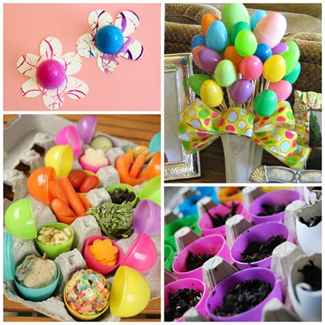 How To Make An Easter Egg Out Of Paper - ideas for decorating plastic easter eggs