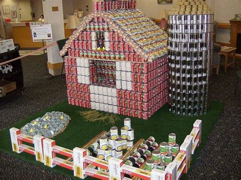 simple canstruction ideas 18 best canstruction ideas 4thgraderocks images on