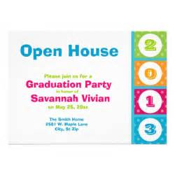 2013 graduation open house invitations 5 quot x 7