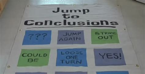 Jump To Conclusions Mat Quote by Jumping To Conclusions Quotes Quotesgram