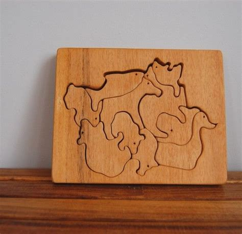 Handmade Wooden Puzzles - 210 best images about puzzles on montessori