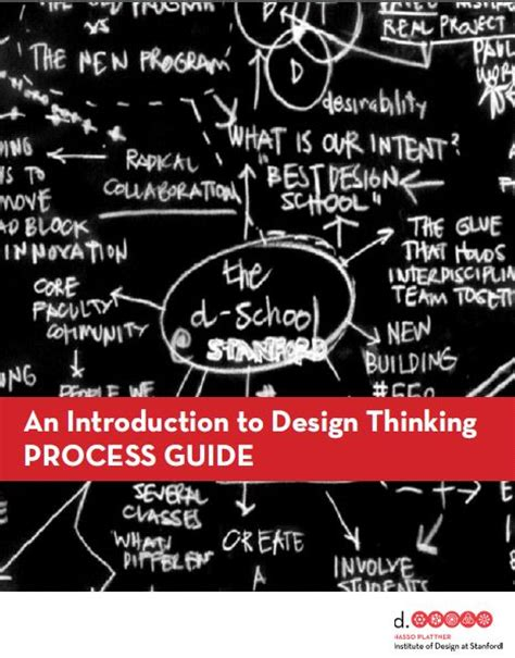design thinking stanford pdf an introduction to design thinking process guide by