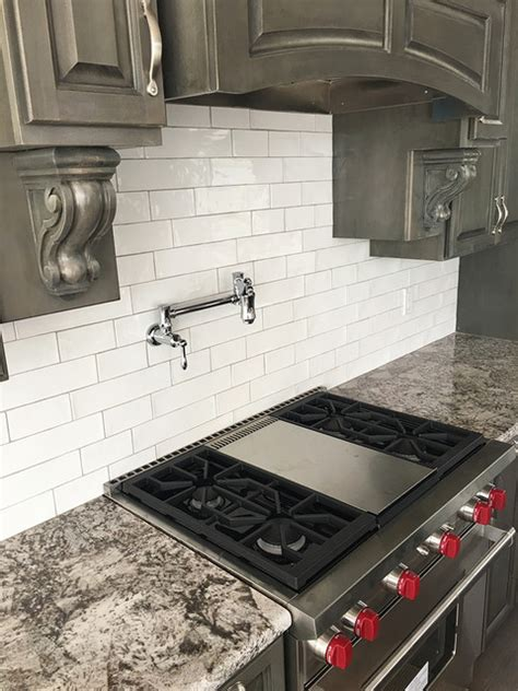 artigiano tile backsplash