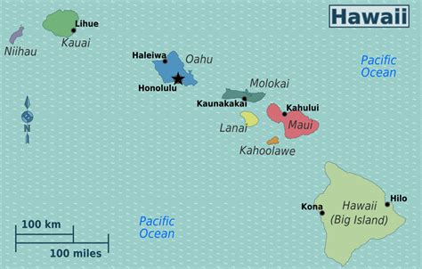 map of hi hawaii travel guide at wikivoyage