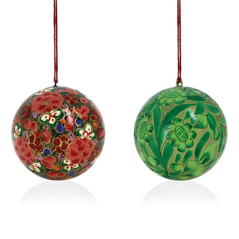 Handmade Paper Ornaments - decoration ornaments handmade paper mache