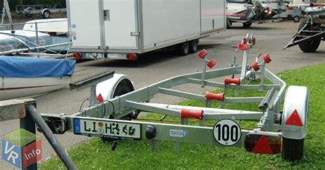 boot trailer zulassung zulassung von sportanh 228 ngern schwarze und