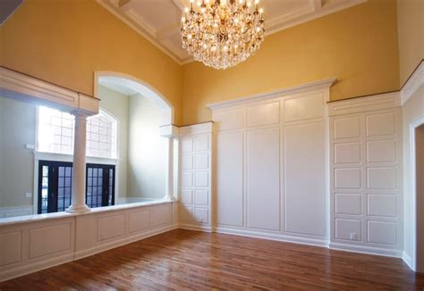 millwork design services coffered ceilings wainscoting
