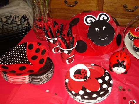 themes of gold bug gold country girls a ladybug birthday party