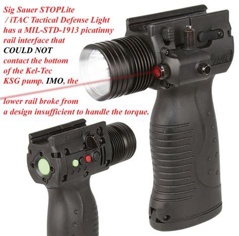 Kel Light shotgunworld com ksg lower rail failure