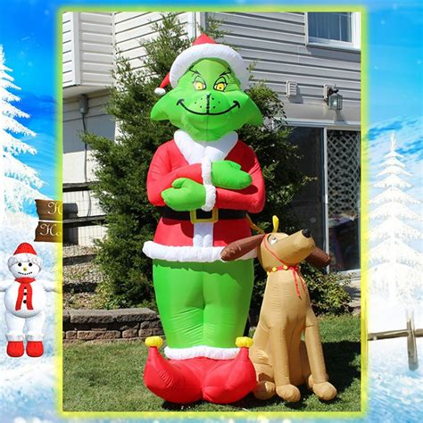 popular christmas inflatable grinch buy cheap christmas