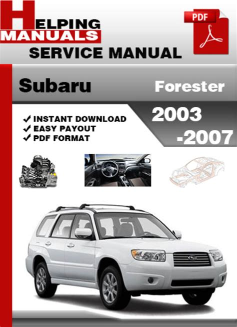 download car manuals 2005 subaru forester electronic toll collection subaru forester 2003 2007 service repair manual download download