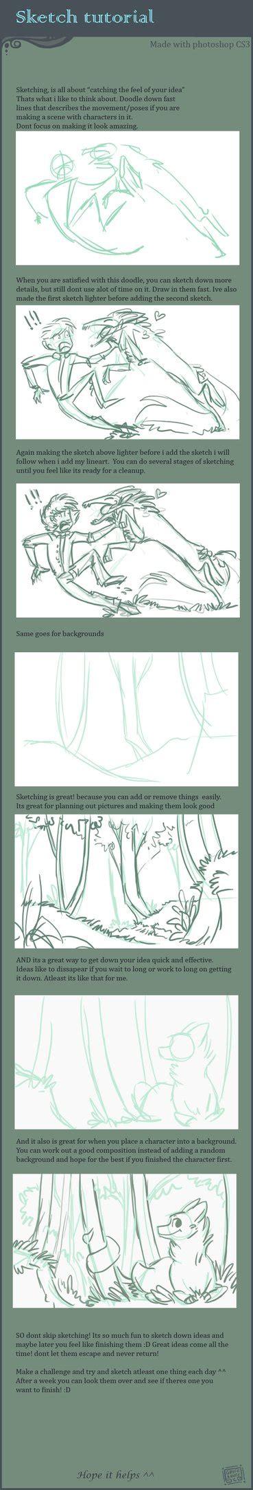 sketchbookx tutorial sketching tutorial by griffsnuff on deviantart