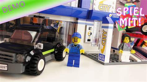 werkstatt zu hause bauen lego auto haus werkstatt bauen aufbau demo mobil in