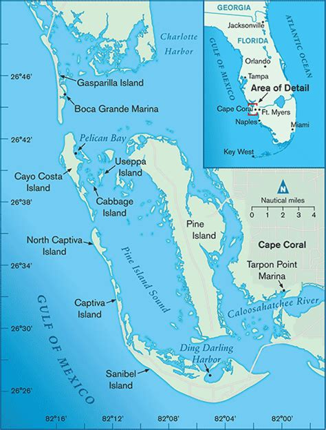 map of southwest florida cruising the southwest florida coast boatus magazine