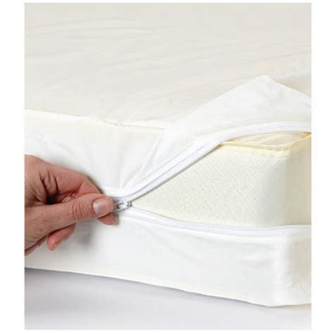 Mattress Cover For Dust Mites by Size Mattress Cover Vinyl Waterproof Zippered Blocks