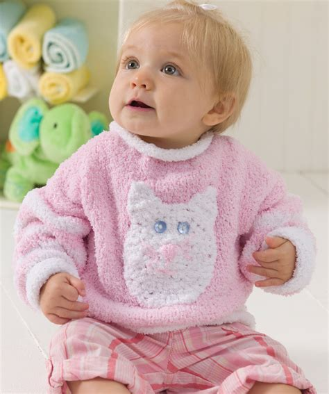 red heart knitting patterns sweaters for boy kitty baby sweater crochet pattern and kitty baby sweater