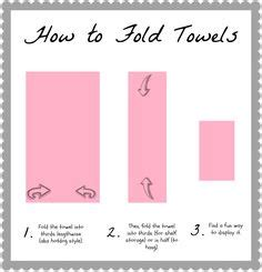 how to fold bathroom towels for display folding bath towels on pinterest decorative bathroom