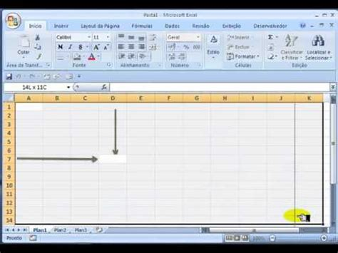 layout en excel 1 layout do excel youtube