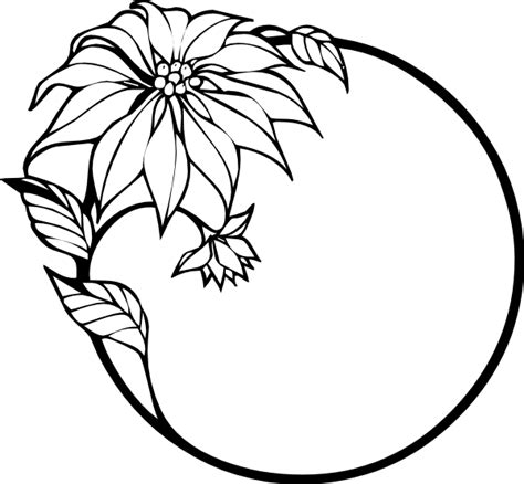 clipart of flowers coloring pages drawings of flowers coloring clipart best