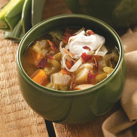 savory root vegetable soup recipe taste of home