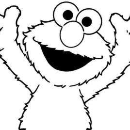 elmo head coloring pages elmo head coloring page kids drawing and coloring pages