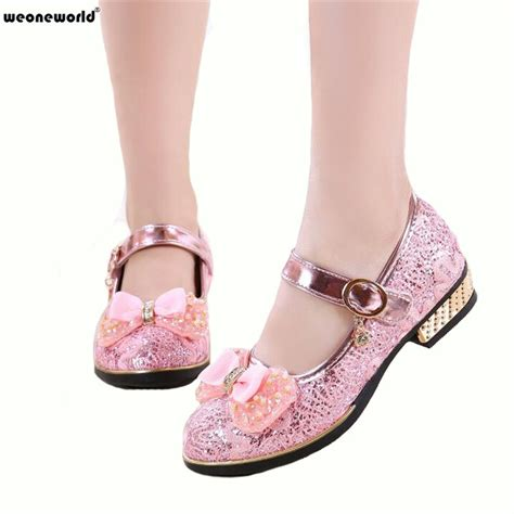weoneworld children princess glitter sandals