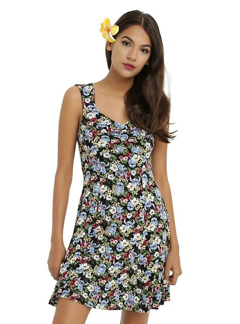 Where Can I Buy A Hot Topic Gift Card - disney lilo stitch floral dress hot topic