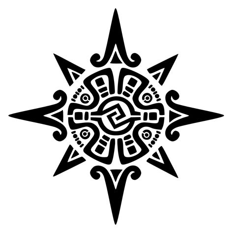 tribal star signs tattoos designs aztec tattoos designs ideas and meaning tattoos for you