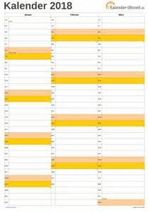 Kalender 2018 Zum Ausdrucken Hochformat Kalender 2018 Zum Ausdrucken Kostenlos