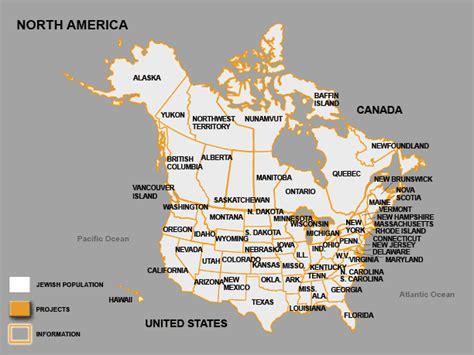 america interactive map be chol lashon population america