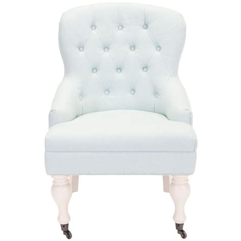 Robins Egg Blue Chair by Home Decorators Collection Marais Solid Ivory Cotton Blend