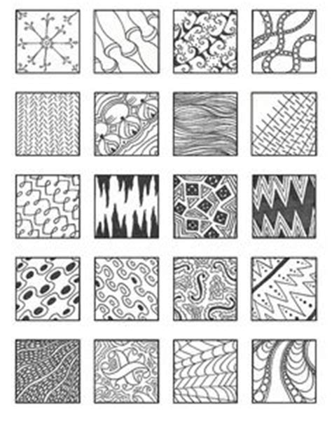 zentangle pattern charts make a zentangle design patterns and search
