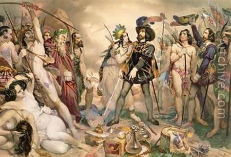 the new spaniards montezuma the emperor and mexico on